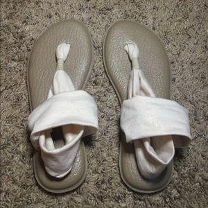Sanuk Yoga Slip Sandals